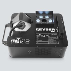 Maquina De Humo Pirotecnia Led Rgba+uv, Chauvet Geyser P6