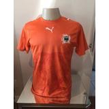 Camisa Oficial Seleção Costa Do Marfim - Drogba - No 11 - P