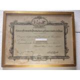 954- Diploma Camara Prod. Y Com. De La Papa Año 1949