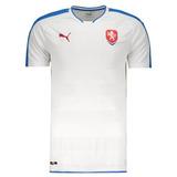 Camisa Puma República Checa Away 2016 - Futfanatics