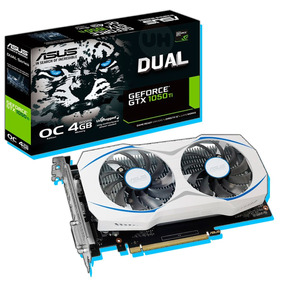 Gtx 1050 Ti Oc 4gb Asus Dual Geforce Nuevo Pc