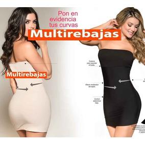 Faja Vestido Colombiana Levantacola Senos Para Vestido Falda