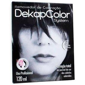 Removedor De Coloração Capilar Dekapcolor Sytem 120ml Yamá