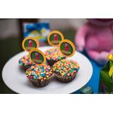 50 Toppers 3d Backyardigans Para Cupcakes Enfeites De Festa