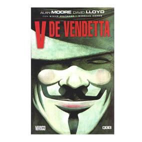 V De Vendetta Alan Moore Libro Novela Grafica Comic Español