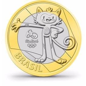 Sachê Moedas Das Olimpíadas Rio 2016 Mascote Vinicius