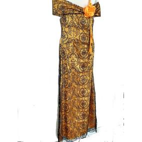 Vestido Longo Vual Preto C/brilho Festa Casamento Madrinha