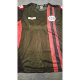 Camiseta San Lorenzo Lotto Negra Alternativa Leer Casla