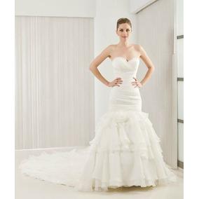 Vestido De Novia Corte Sirena Diseñadora Angela Betasi