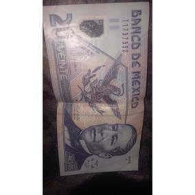 Billete De 20 Pesos Antiguos Mexico