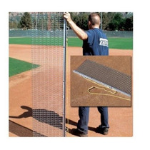 El Campo De Béisbol Completamente De Acero Drag Mat & Angula