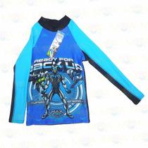 Camisa De Surf Para Niños De Max Steel