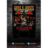 Cuadro Para Entrada // Guns N´ Roses