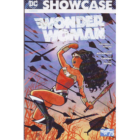 Comic Showcase Wonder Woman Tomo 1 Azzarello Español Televis