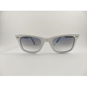 a00b5932b011a Óculos De Sol Ray Ban 4099 Branco Perolado Lente Degradê - Óculos no ...