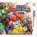 ..:: Super Smash Bros ::. Para 3ds / 2ds En Tico Electrox