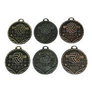 10 Medallas Deportivas Voley 3,5cm