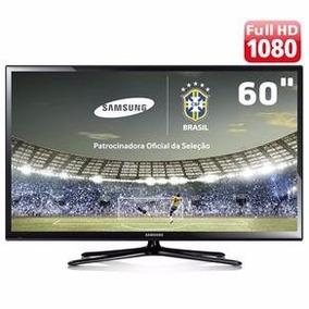 Tv 60 Plasma Samsung Full Hd Pl60f5000 Usb Hdmi Vitrine