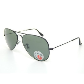 681e481478 Gafas Ray Ban Rb /58 Aviator Black/g-15 Xlt Polarized 58mm
