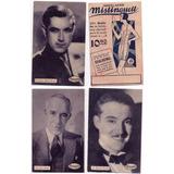 5 Postales De Actores - Publicitarias