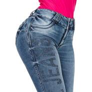 Calça Pitbull Pit Bull Jeans Feminina C/ Bojo Modela Bumbum
