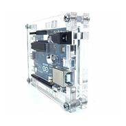 Case Gabinete Arduino Uno R3 Acrílico Traslucido Calidad