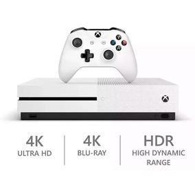 Xbox One S 500gb Branco Com 2 Controle 12x Sem Juros Origina