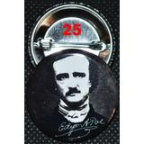 Botones Allan Poe Batman Harley-davidson Craneo