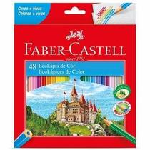 Caixa De Lápis De Cor 48 Cores Faber Castell - Original