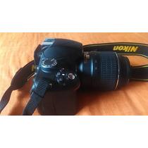 Cámara Nikon D3200 24.2mp Lente 18-55mm Como Nueva