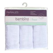 Pañal Bambino Blanco X3 Unidades