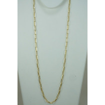 Corrente Cartier 60cm Ouro 18k - 750 Masculina Cca60400