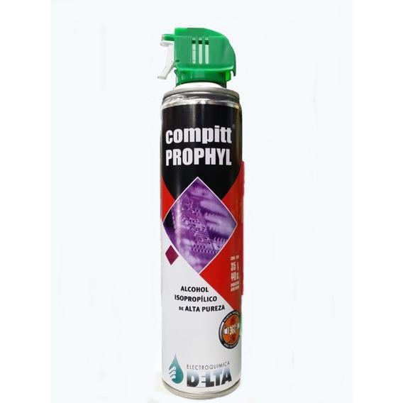 Alcohol Isopropílico Aerosol Compitt Prophyl 440 .. Anri Tv