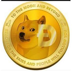 Dogecoin 100 Peça O Anuncio 12,50 Bitcoin, Litecoin