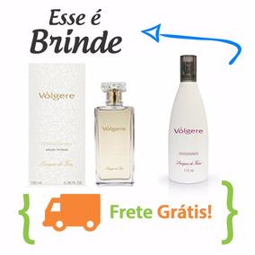Vólgere Perfume 100ml Lacqua Di Fiori - Grátis Deodorante