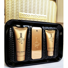 Kit Paco Rabanne One Million 100ml + Pós Barba + Gel Banho