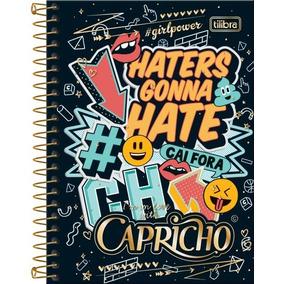Caderneta Caderno 1/8 Capricho