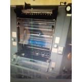 Maquina Litografica Heidelberg Gto 46