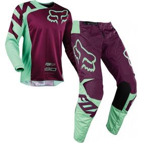 Equipo Conjunto Fox 180 Honda Motocross Crf Trx 180 Purple