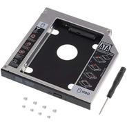 Caddy Adaptador Notebook Disco Sata Hdd Ssd 12,7mm 2do Disco