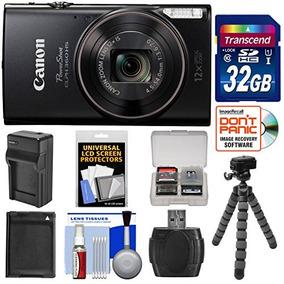 Cámara Digital Canon Powershot Elph 360 Hs Wi-fi (negro) Co