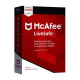 Mcafee Livesafe 1 Año Original, Equipos Ilimitados!!