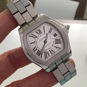 e0d7e101257 Cartier Roadster S Large Full Steel Automatic Impecável