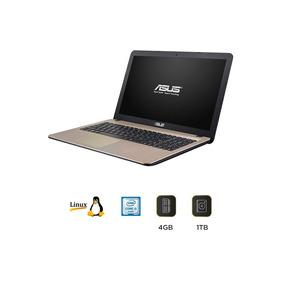 Portatil Asus Core I3 X540la 4gb 1tb 15.6 Pulgadas Linux
