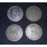 Monedas Antiguas Mexicanas1 Peso Morelos Plata Ley .100