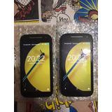 Moto E 4g 8gb Para Chip Movistar Android 6.1 Negro & Blue