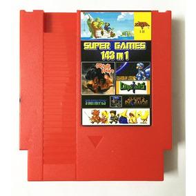 143 Em 1 Nes 72 Pin Duck Tales Mario Turtles Megaman Contra