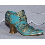 Mini Sapato Em Resina - Modelo Azul