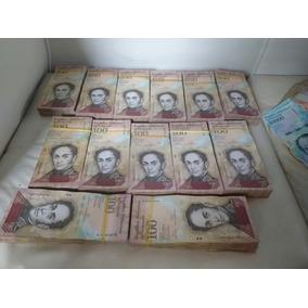 40 Cedulas 100 Bolivares Venezuela