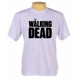 Camiseta Camisa Personalizada The Walking Dead Série Seriado